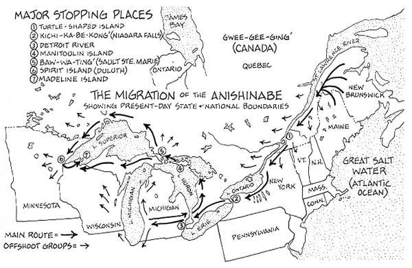 History of the Great Lakes i am anishinaabe