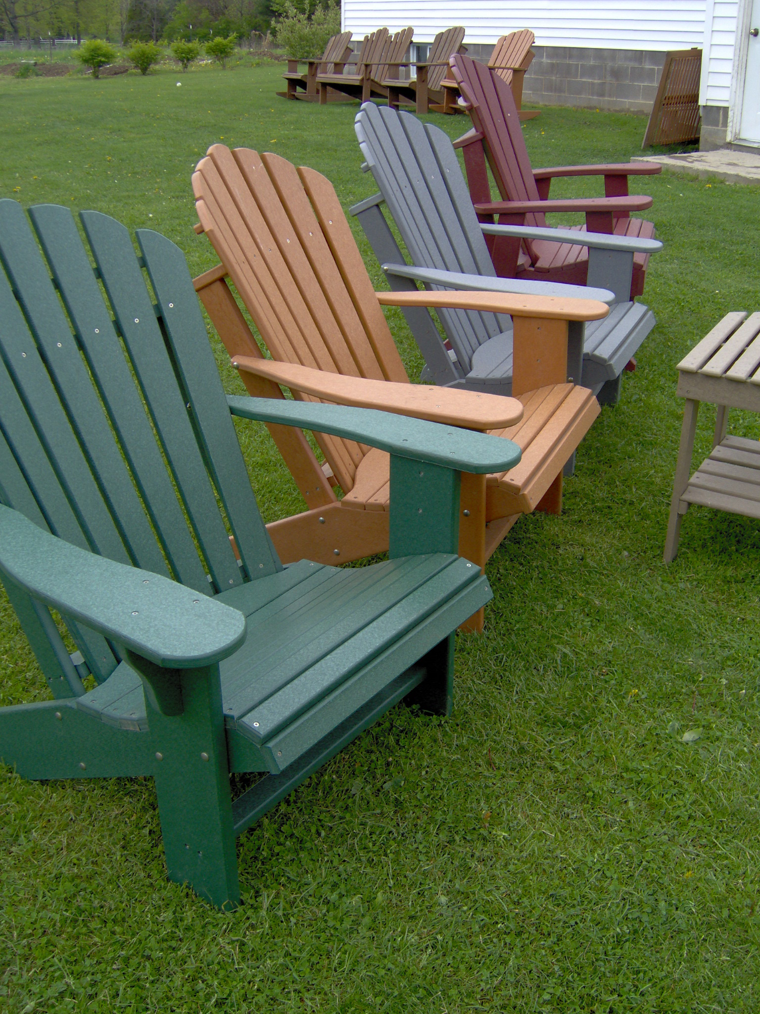 Lifetime Adirondack Chair Comfo Back Poy Lumber Adirondack Chair