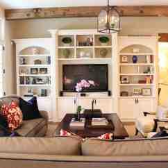 Bookshelf In Living Room Pink Accent Chairs Redux Nadia Watts Interior Design