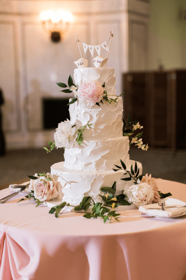 Blush And White Summer Wedding At The Chicago Cultural