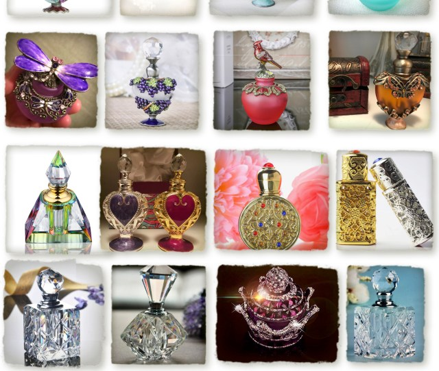 Essential Oil Perfumes From