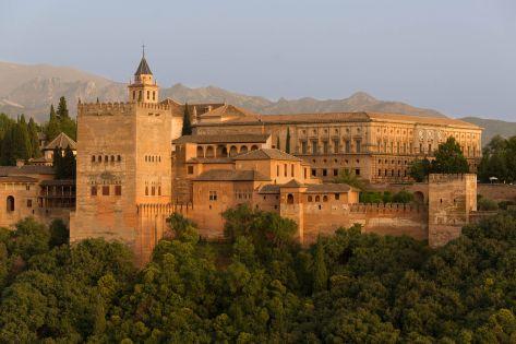 Photo Credit: Wikimedia Alhambra Palace
