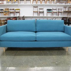 Teal Sofas All Leather Sofa And Loveseat Milo Baughman Two Available Chris Howard Antiques Modern 1