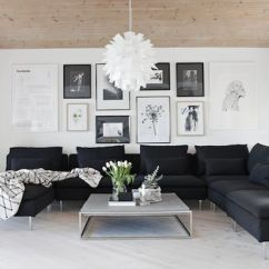 Living Room Pictures Black And White Storage Cabinets 30 Elegant Colour Schemes Renoguide Australian Modern