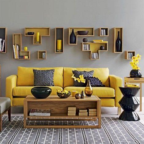 living room interior colour ideas dark brown furniture 30 elegant schemes renoguide australian stylish bright yellow