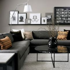 Living Room Pictures Black And White Kitchen Designs 30 Elegant Colour Schemes Renoguide Australian Modern Grey