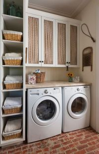40 Small Laundry Room Ideas and Designs  RenoGuide ...