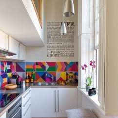 Modern Style Of Divider Counter In Living Room And Kitchen Valance Curtains 50 Small Ideas Designs Renoguide Australian Colourful