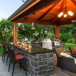 Patio Kitchen White Granite Countertops 45 Exceptional Outdoor Ideas And Designs Renoguide Elegant