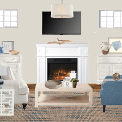 Living Room Online Magazine Ideas Interior Design Traditional Coastal Melissa Blue And White