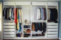 Closet Tour & Review of Ikea Pax System  Segilola  Ileke