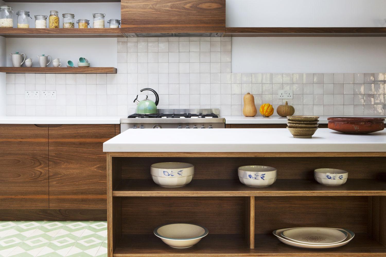 Plywood Kitchen Drawers