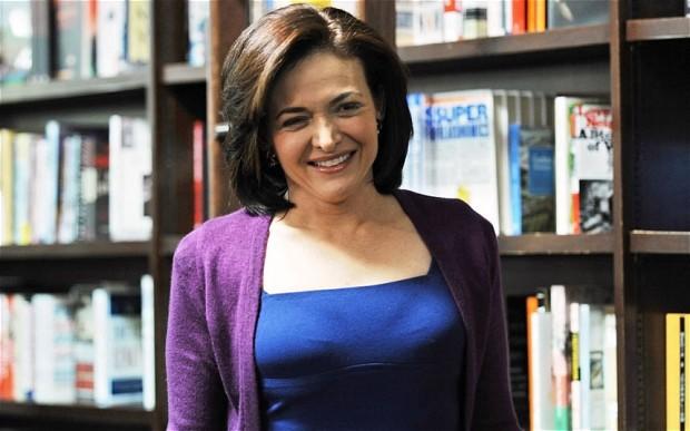 Sheryl Sandberg—The Telegraph