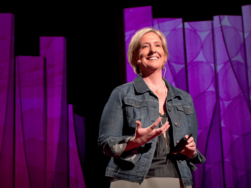 TED and TEDx are a powerful form of communication for entrepreneurs. (image courtesy of Brene Brown)
