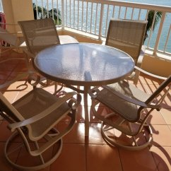 Redo Sling Patio Chairs Folding Circle Chair Target Furniture Redone On Marco Island Fl Leisure C1 Jpg C2