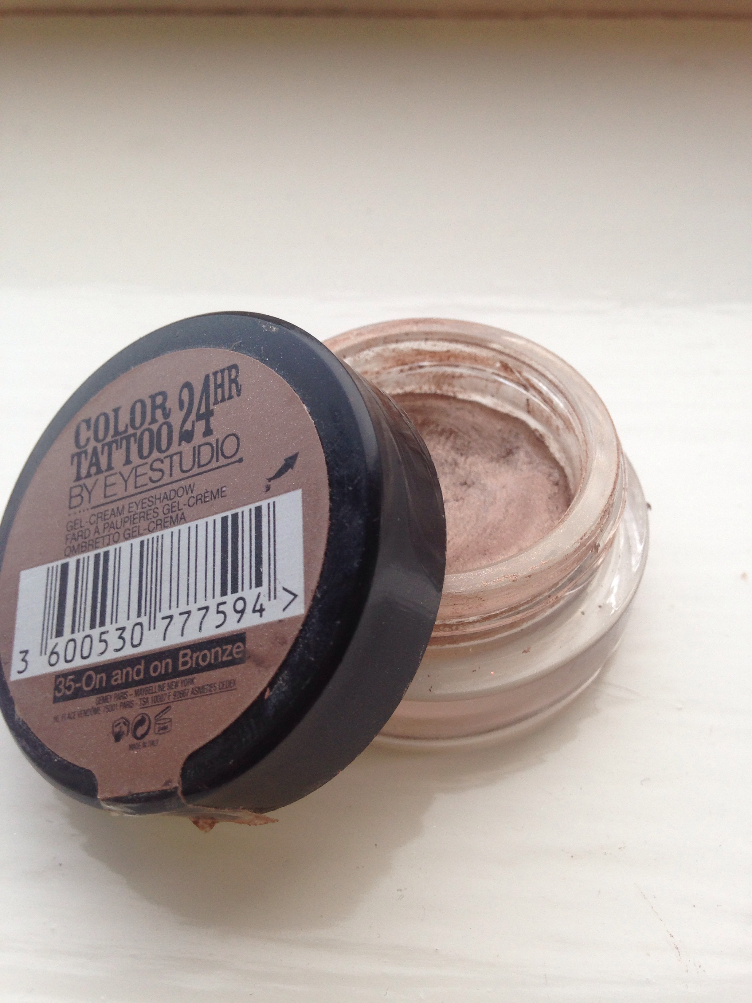 Maybelline Color Tattoo 24 Hour in On and On Bronze