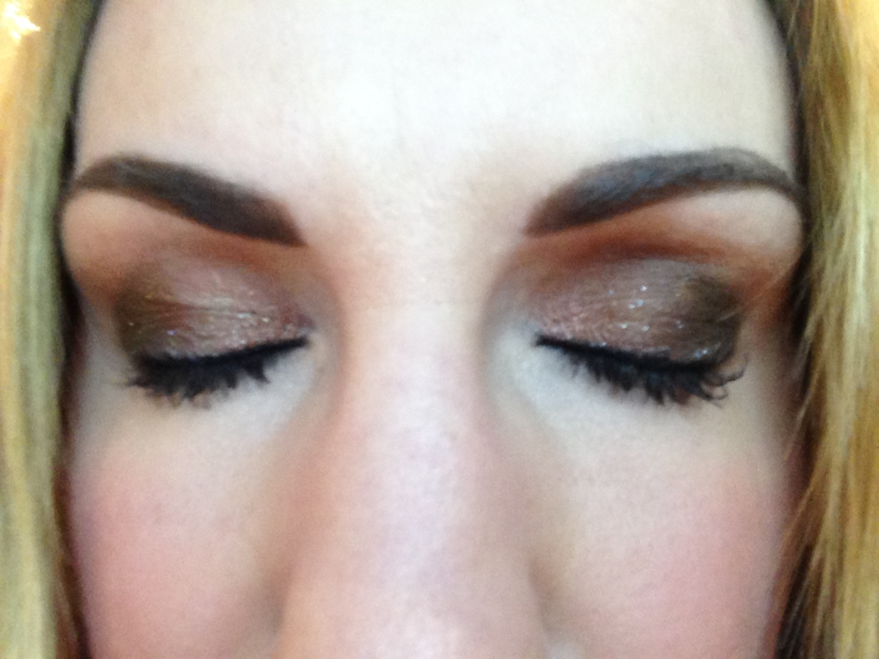 So pretty (the make up, not the angle!)
