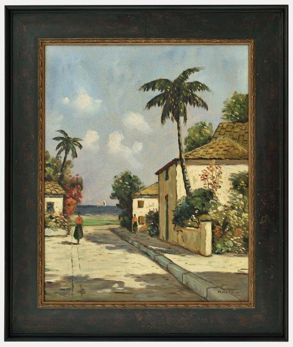West Indies Oil Paintings
