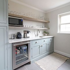 Kitchen Cabinets With Glass Free Standing Pantry Before + After | Project Powhatan: Kitchen, Butler's ...