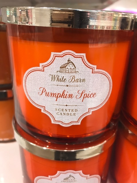 The queen B of pumpkin scents, if you will. Anything but basic, this scent will put you right in the mood for fall, especially if you buy it in August when it's still summer. White barn is affiliated with BBW, so if you have one of those near you, you won't miss out on the pumpkinpalooza!