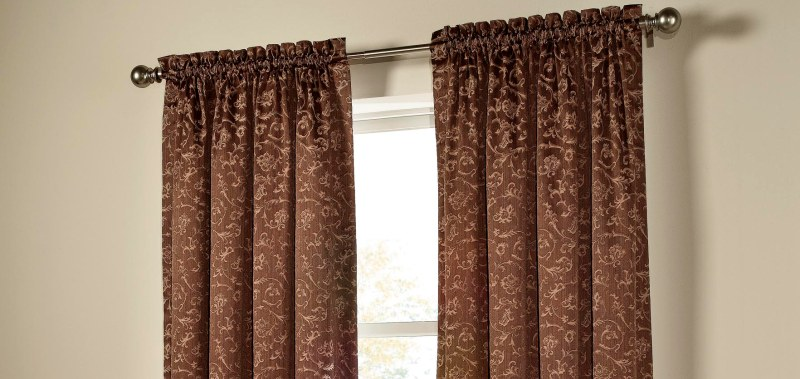 Rod Pocket Drapes — Rico Curtains And Blinds