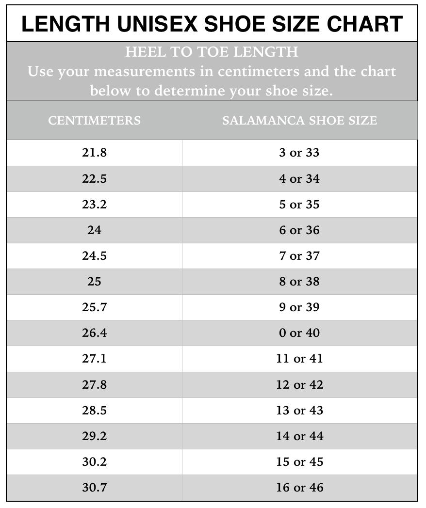 Shoe size chart also  salamanca custom made tango shoes new york rh newyorktangoshoes