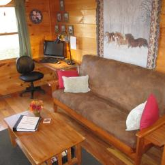 Arabian Nights Living Room Wall Colors For 2016 1br Laurel Fork Rustic Retreat Comfortable At Cabin