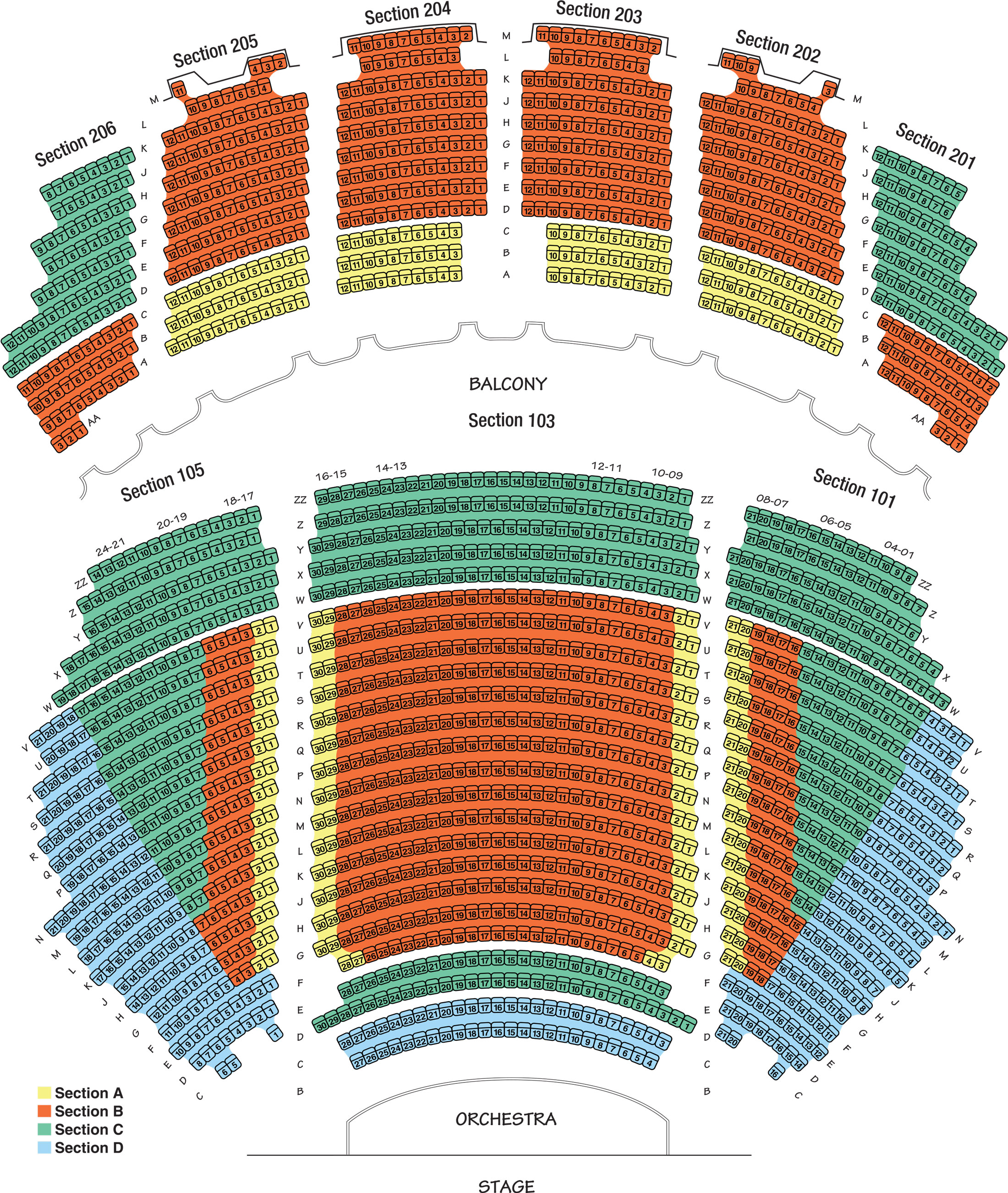Find the seat that   right for you also seating chart erie philharmonic rh eriephil
