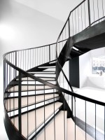 Helical Staircase — Custom Metal Fabrication in Brooklyn NYC