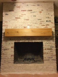How To: Mortar Wash (German Smear) a Brick Fireplace ...