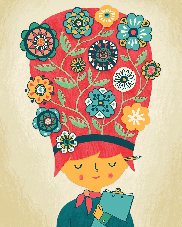 Garden Of Ideas — Allison Cole Illustration