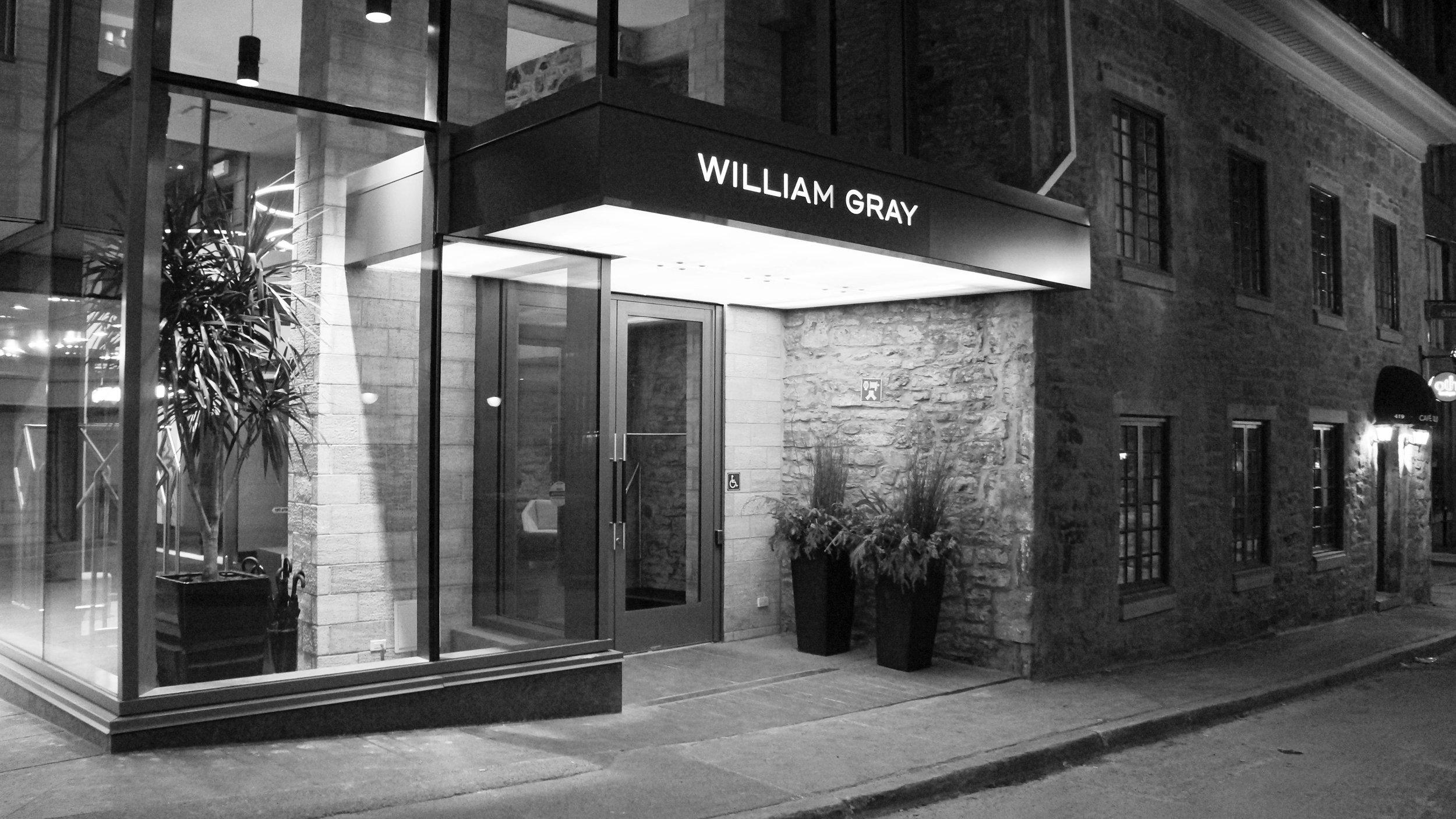 HOTEL WILLIAM GRAY  MONTREALS NEWEST BOUTIQUE HOTEL
