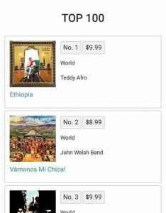 New album debuts at on itunes canada world charts  john welsh los valientes also rh johnwelshband