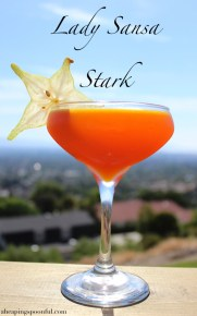 lady sansa stark game of thrones cocktail drink 7