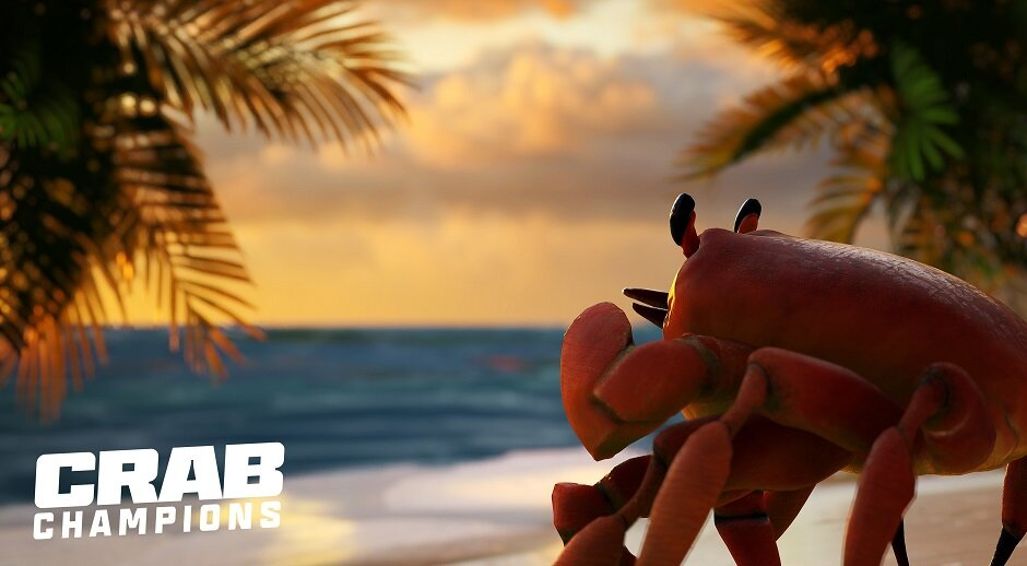 Crab champion - shooting game with interesting gameplay will be released in August on Steam