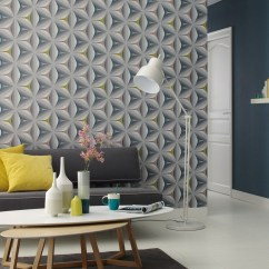 Wall Paper For Living Room Best Modern Ceiling Design 2017 Move Your Walls Star 3d Effect Wallpaper 2 Colourways Home 960422 Grey Pink Blue And Yellow