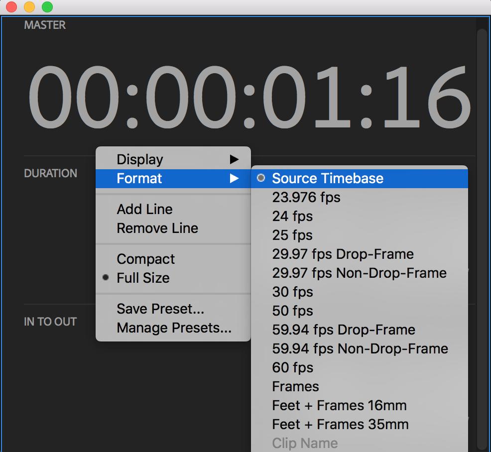 Drop Frames Premiere Pro | Framess.co