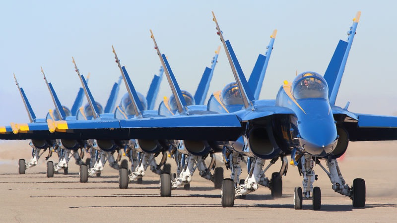 Boeing Awarded Contract For Blue Angels Transition To