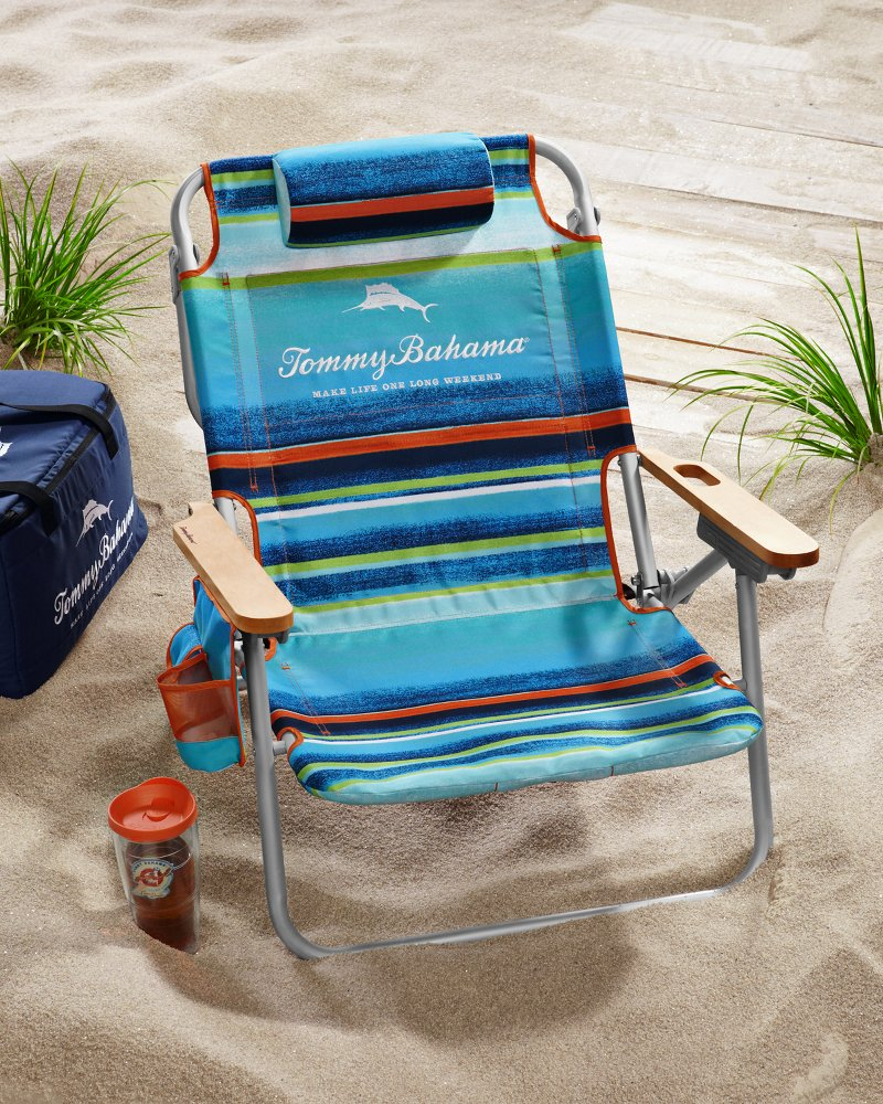 tommy bahamas beach chair industrial design bahama promo pacific city