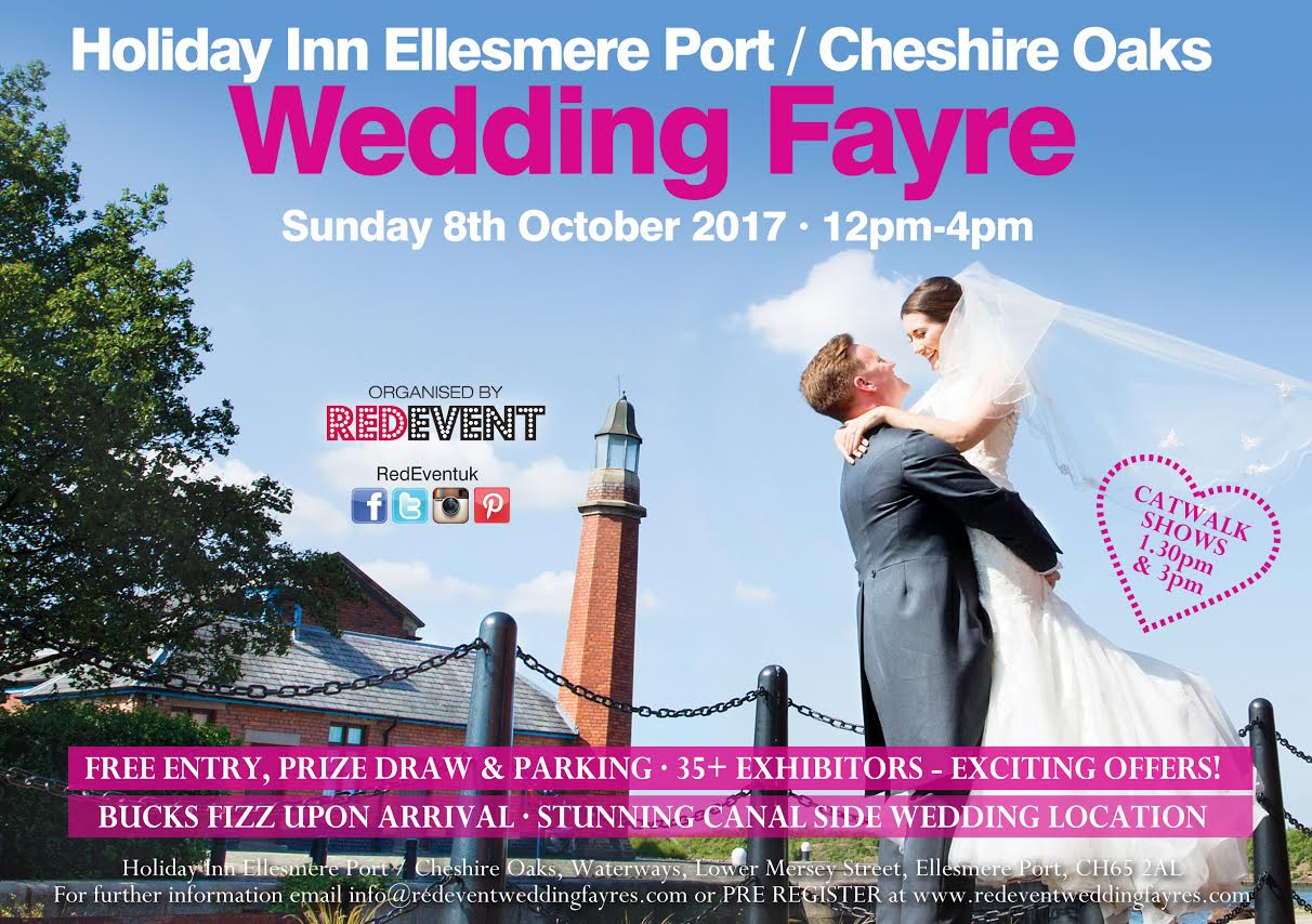 chair cover hire ellesmere port kaboost portable booster wow 20 off venue dressing show offer and free post box from holiday inn cheshire oaks wedding fayre red event jpg