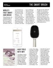 world's smart hair brush