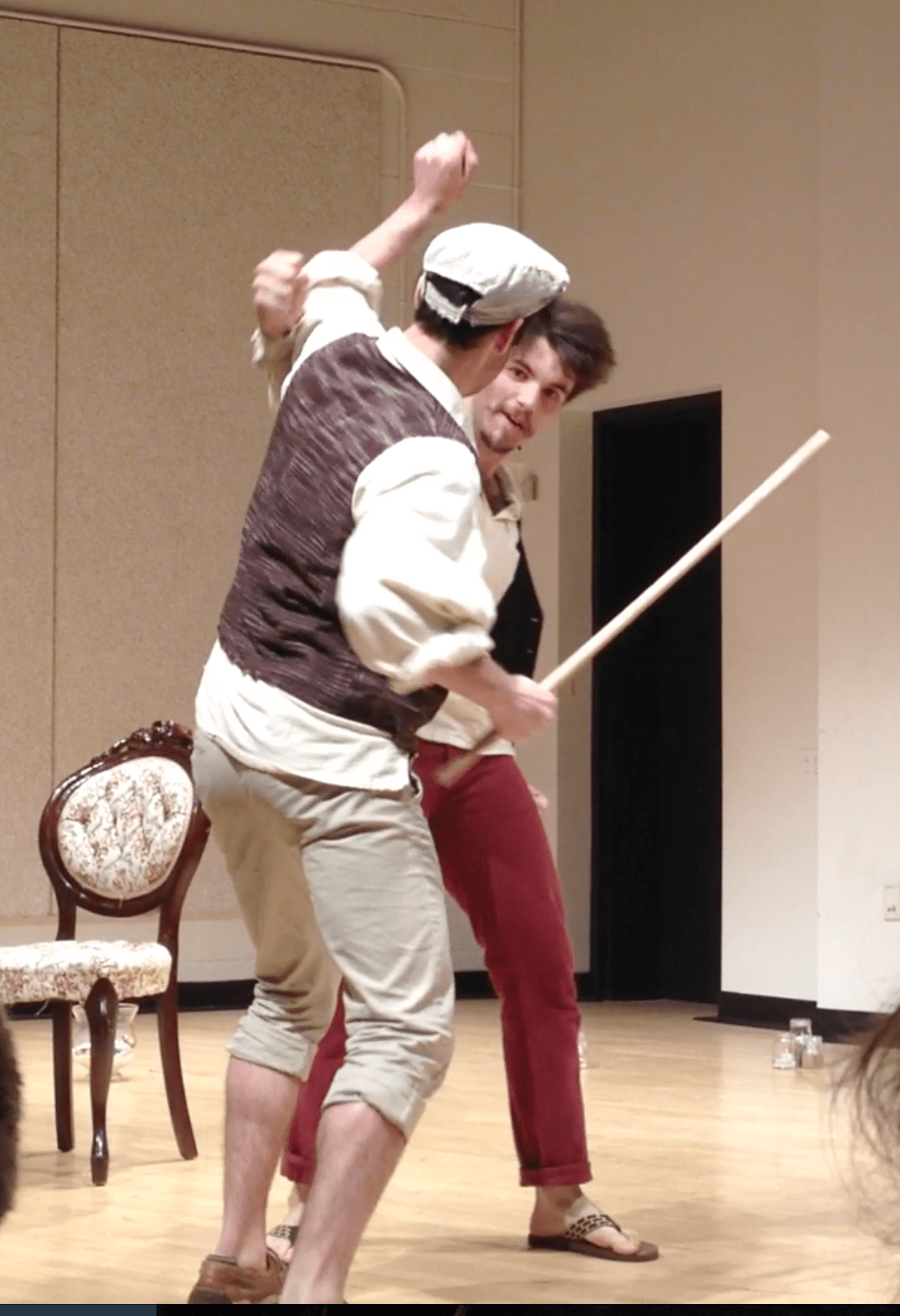 medium resolution of fight choreography as well as performance by justy kosek