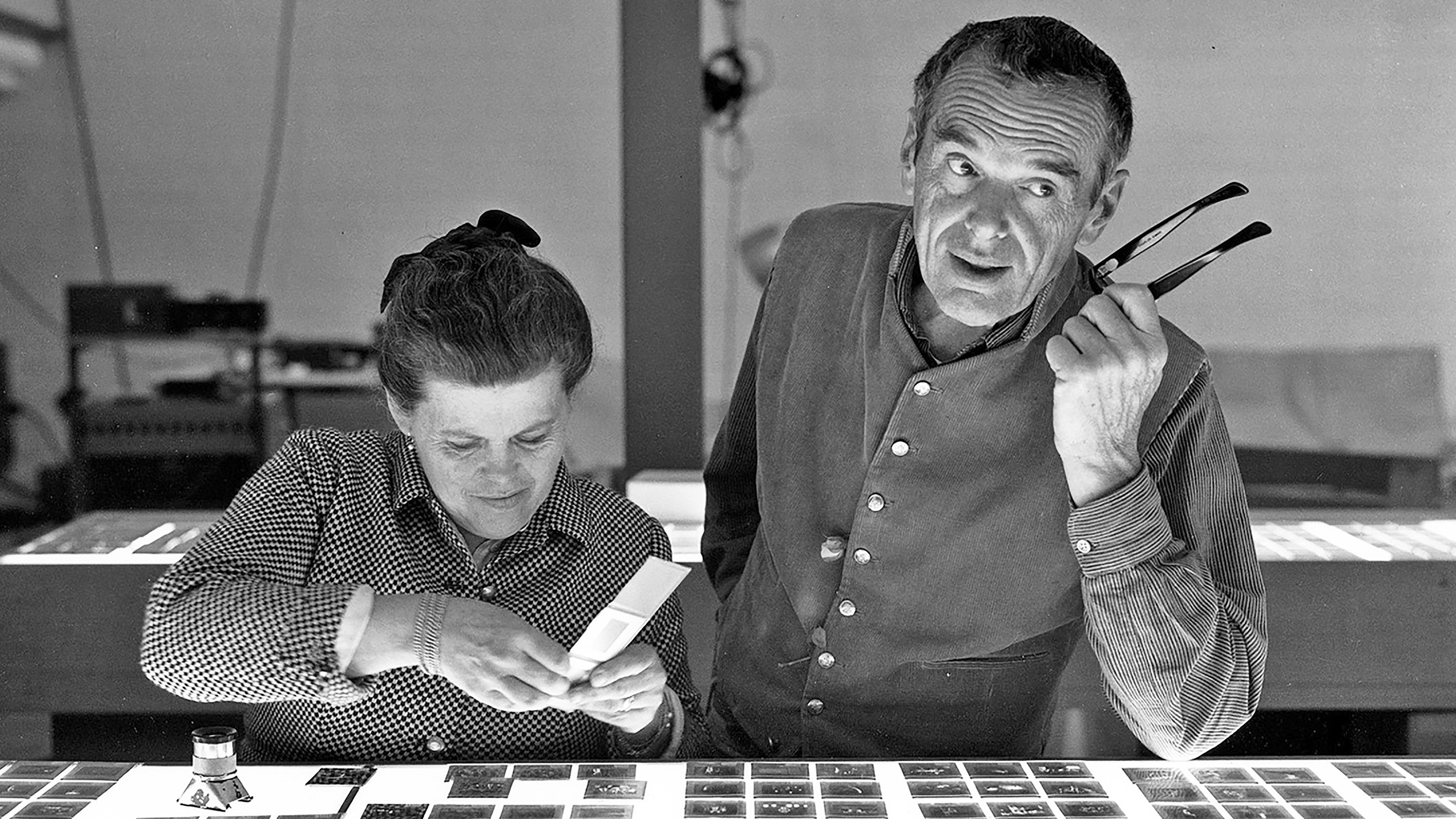 Inspiration  Charles and Ray Eames  DESIGN X SABER