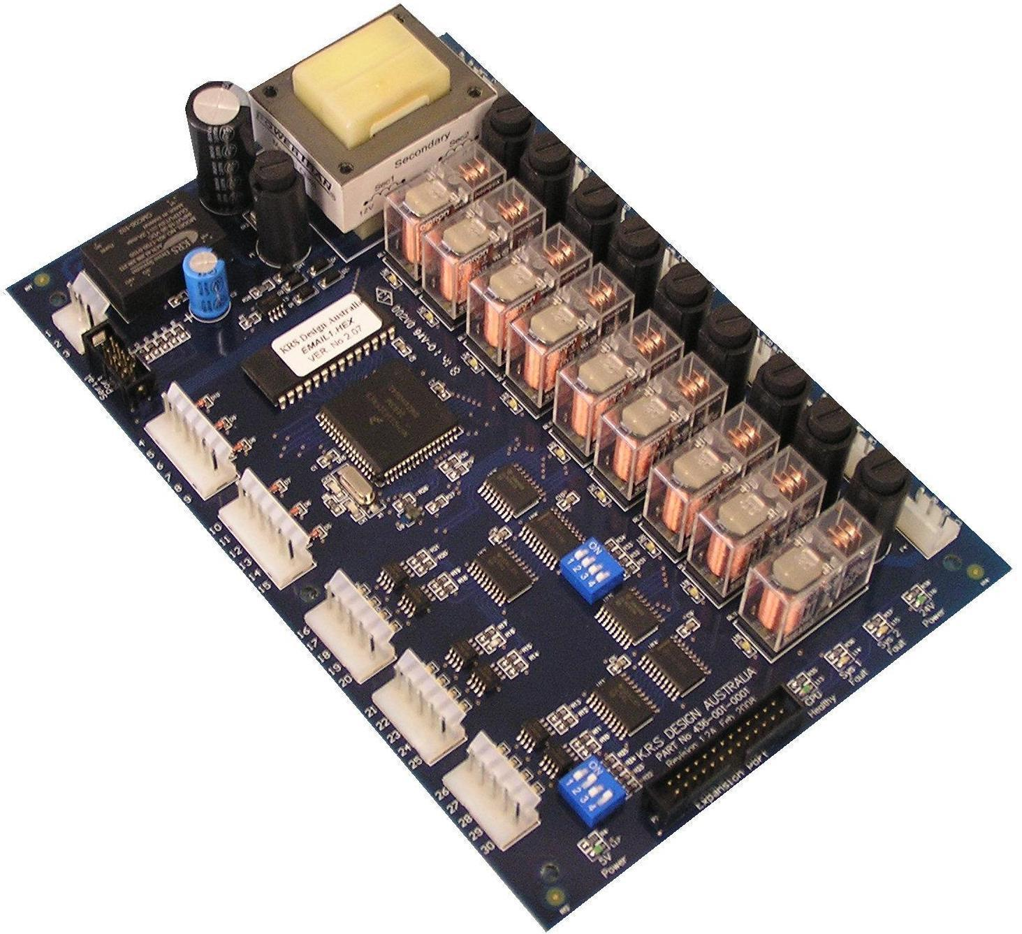 medium resolution of krs emailair air conditioning main board