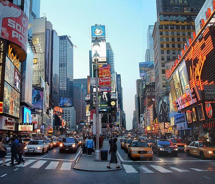 Theme Restaurants Times Square