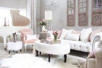 Pink Living Room - talentneeds.com