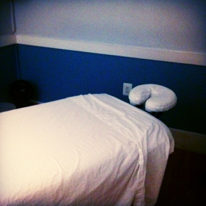 Sports massage: the calm before the storm
