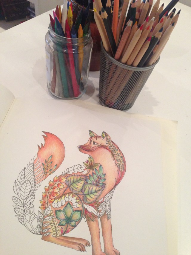 Time off from running let's you reharge and reconnect with hobbies you don't have time for when you're training (like coloring, so relaxing!)