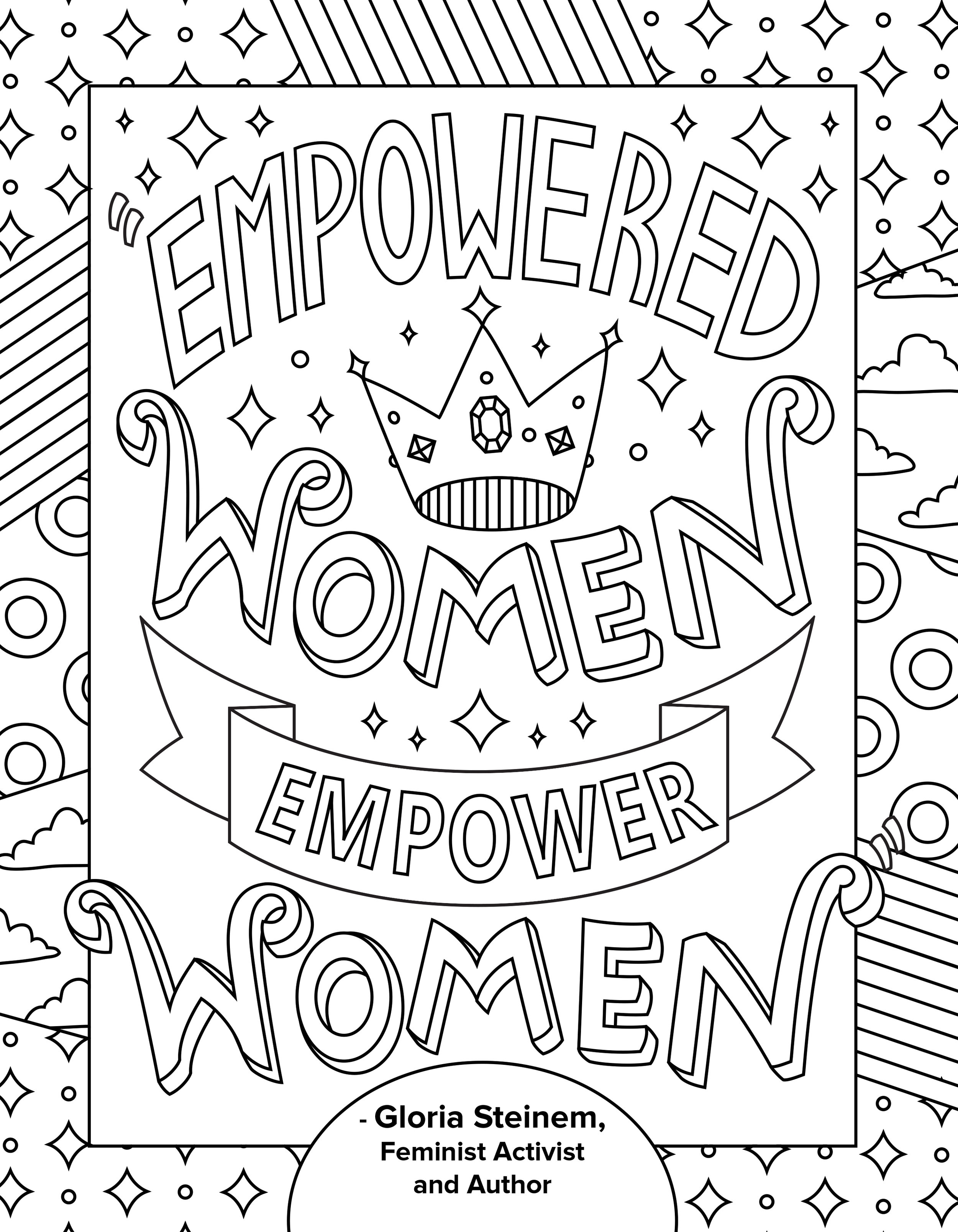 Freelance Coloring Book Pages — Ashley Hull