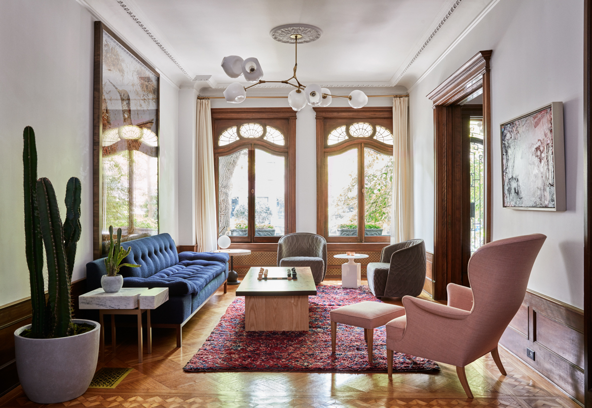 interior designing photos living room sectional park slope limestone jessica helgerson design